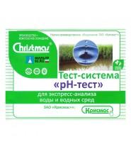 Крисмас Тест воды рН (100 тестов)