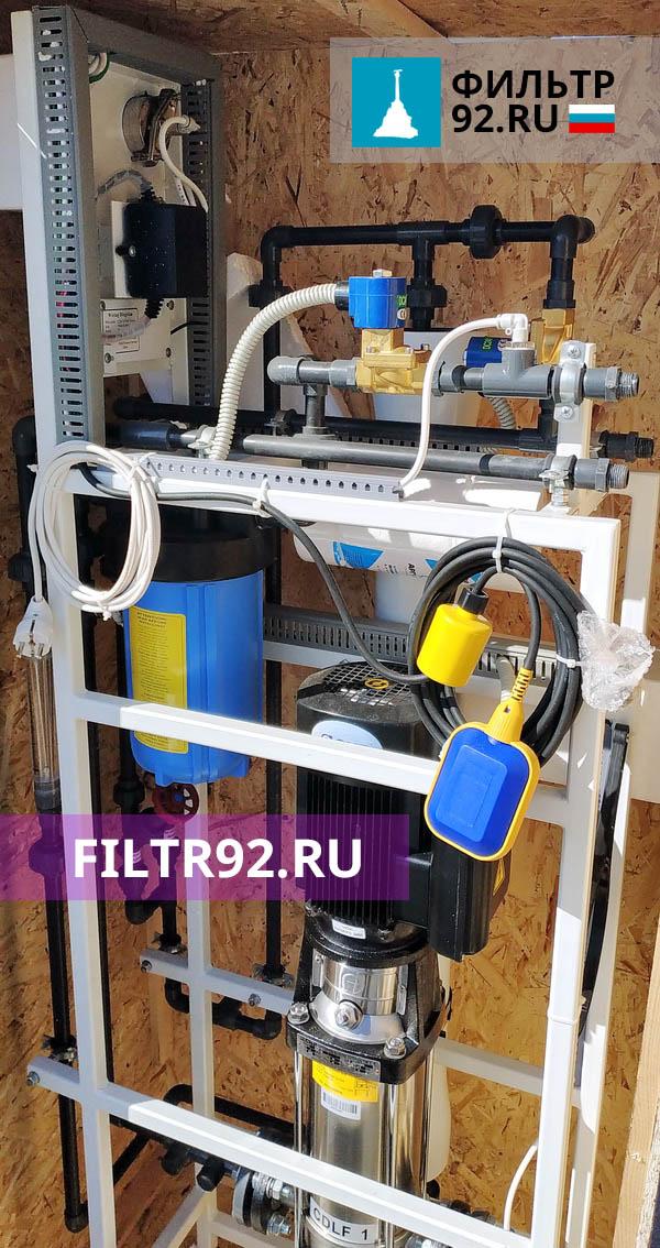 AWT RO-250 1/4040 Установка обратного осмоса 250 л/час