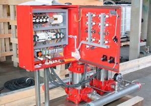 насосная станция jetex пожарная многоступенчатый центробежный насос