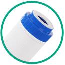 Картридж гейзер БС с ионообменной смолой  для умягчения жесткой воды
